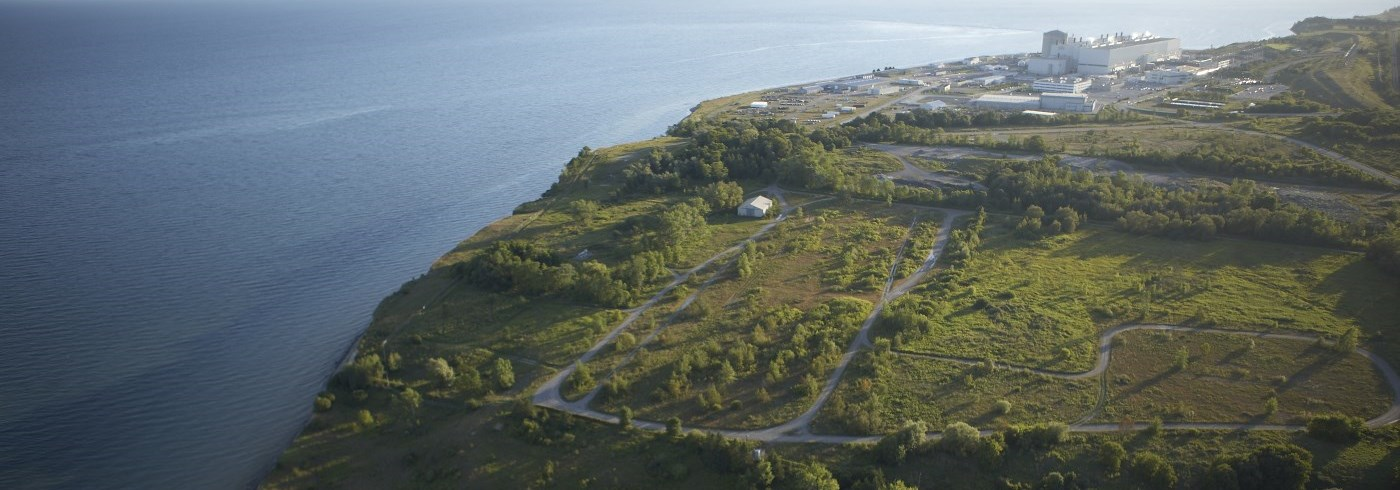 A picture of the Pickering nuclear facility