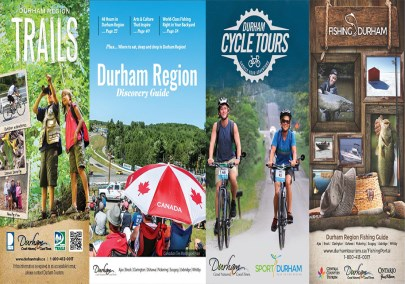 Cover of Durham Tourism publications