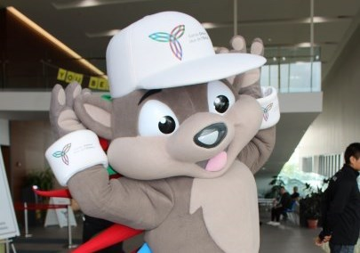 Patchi the mascot