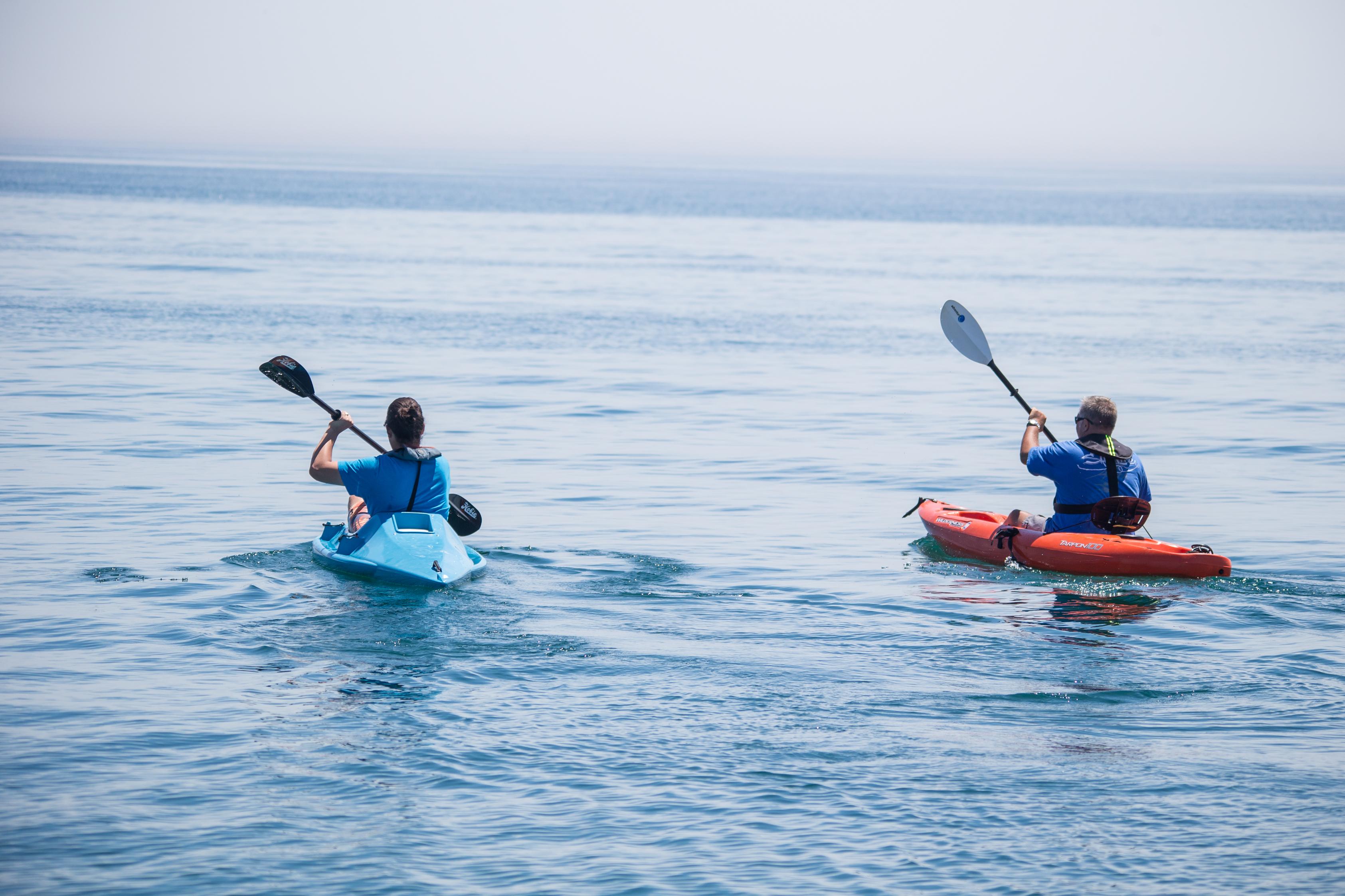 Kayaking at Port Whitby