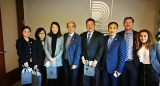 Delegation with Durham Region Economic Development team