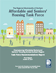 Cover of Affordable and Seniors' Housing Task Force report