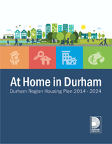 At Home in Durham front cover