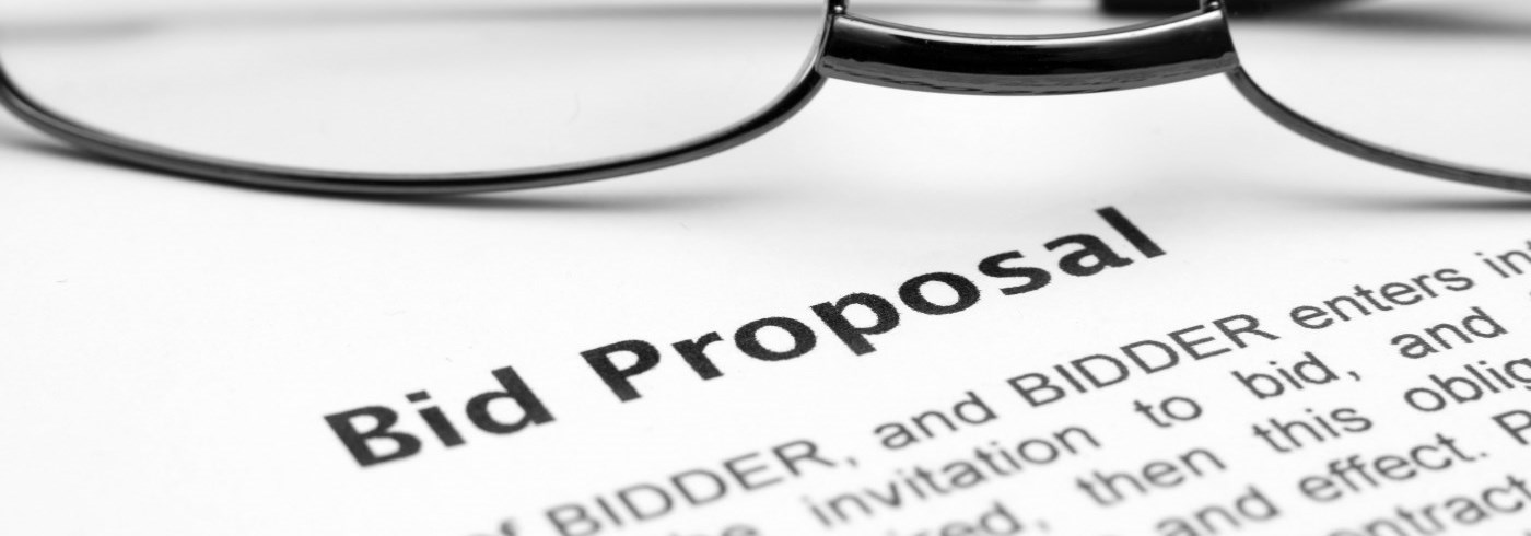 Bid Proposal contract