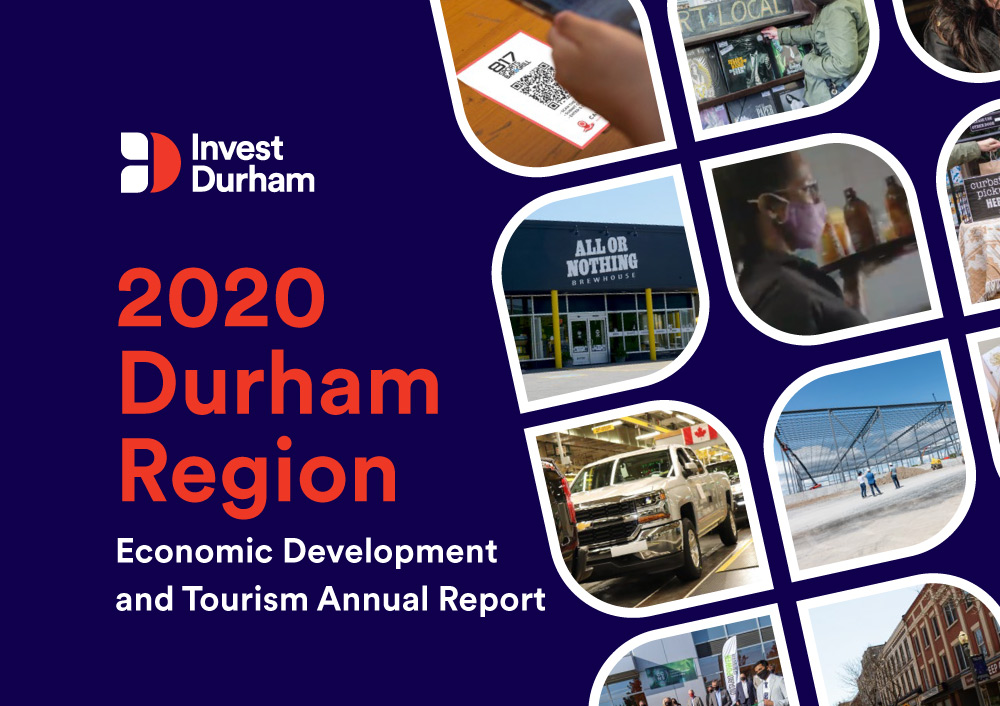 Graphic with the Invest Durham logo and text that reads,