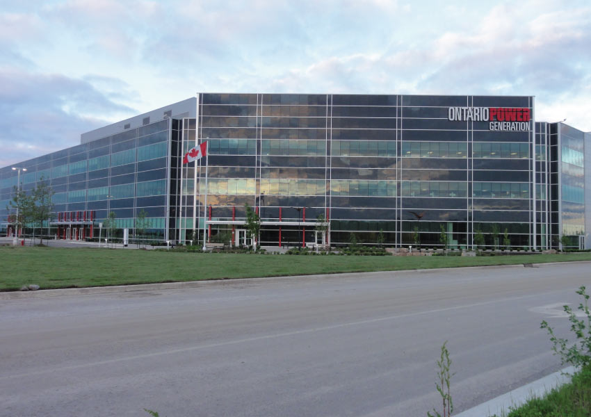Ontario Power Generation exterior building.