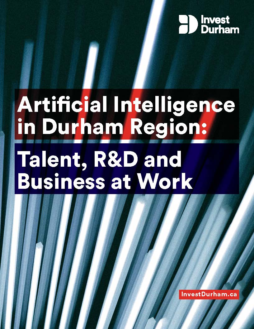 A thumbnail of the first page of the Artificial Intelligence in Durham Region whitepaper pdf