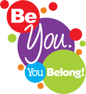 Be You. You Belong! logo