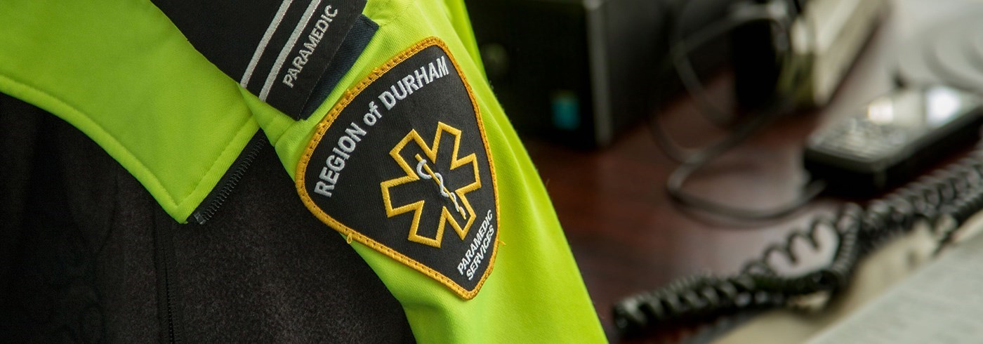 Region of Durham Paramedic Services flash.