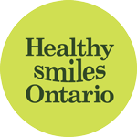 Healthy Smiles Ontario logo.