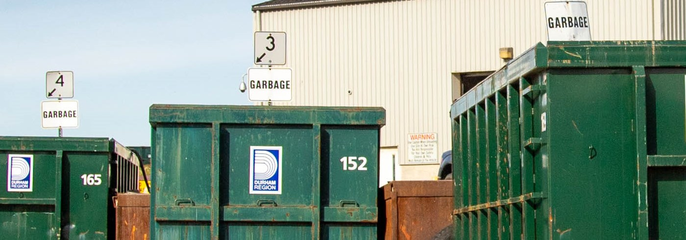 Garbage Bins at Waste Sites