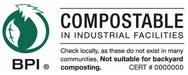 BPI Compostable logo