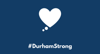 Durham Strong graphic