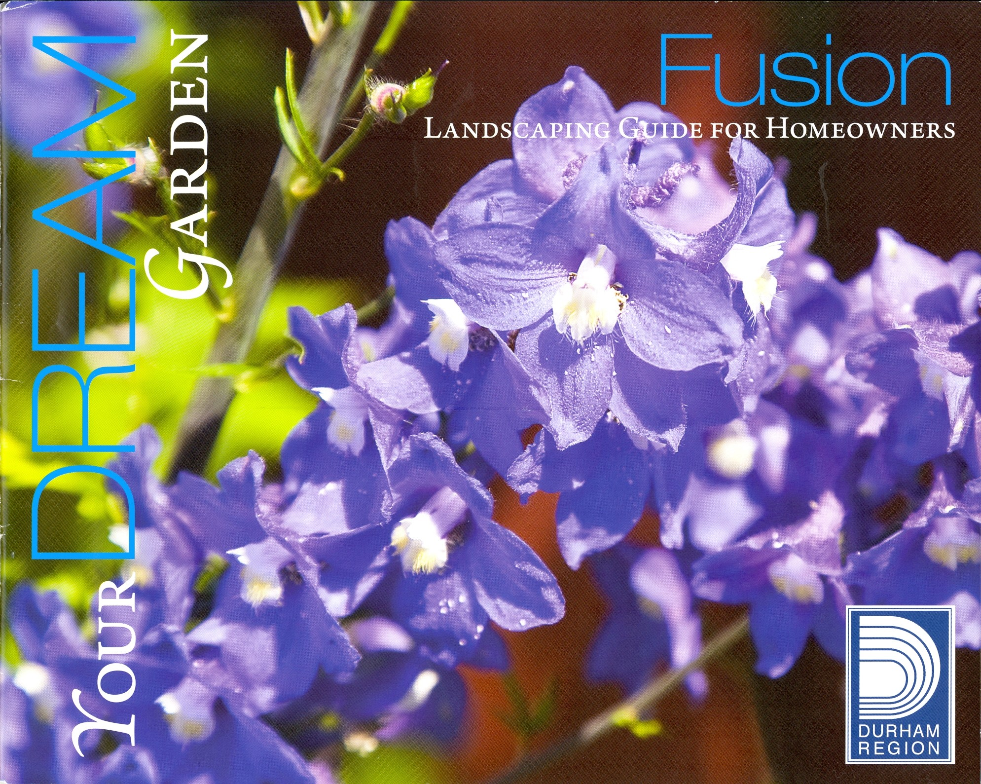 Cover page of Fusion Landscaping Guide