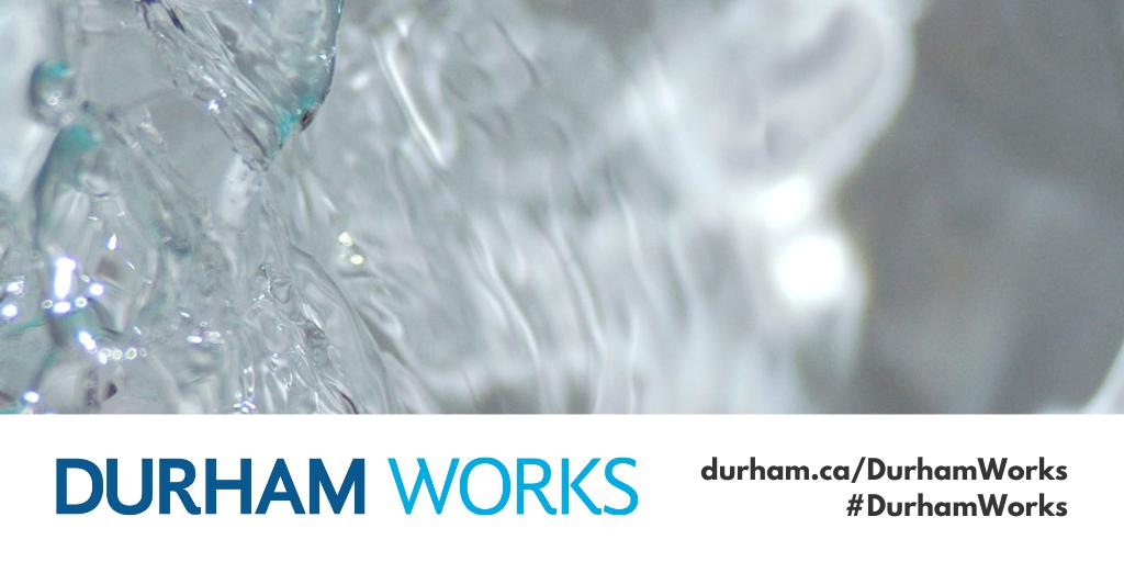 Water plus designed Durham Works banner